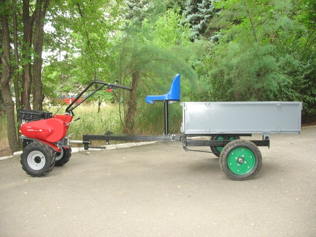 Прицеп для трактора: купить новые и бу Прицепы для.